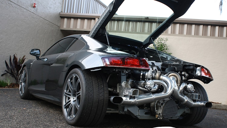 Heffner Twin-Turbo Audi R8 V10