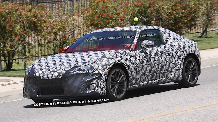 Spy Shots: Subaru Coupe