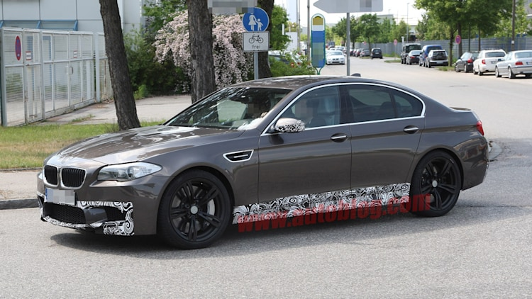 2012 BMW M5: Spy Shots