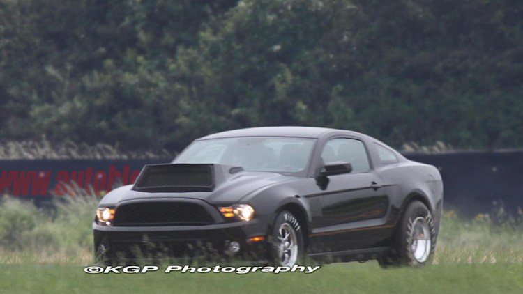 Spy Shots: Ford Mustang Drag Racer