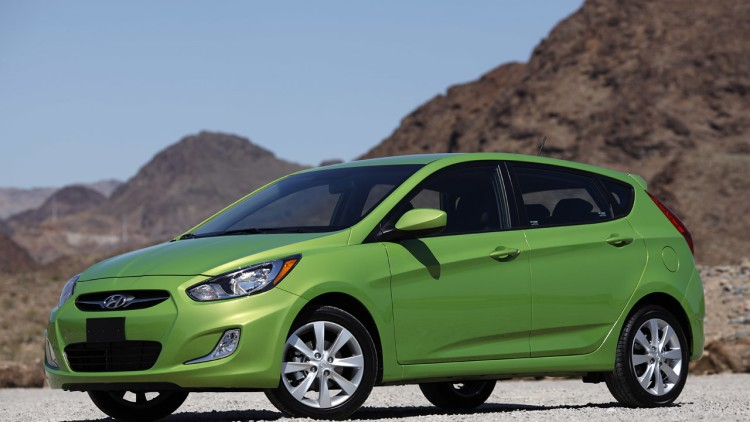 2012 Hyundai Accent Five-Door