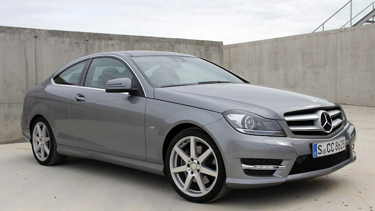2012 Mercedes C-Class Coupe