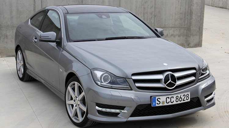 2012 mercedes c class coupe first drive photo gallery autoblog - Mercedes c class 2012 coupe ...