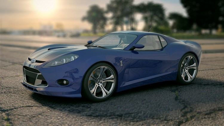 Ford Cobra Snakehead Concept