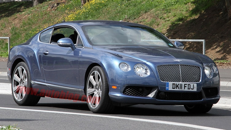 Bentley Continental GT Speed: Spy Shots