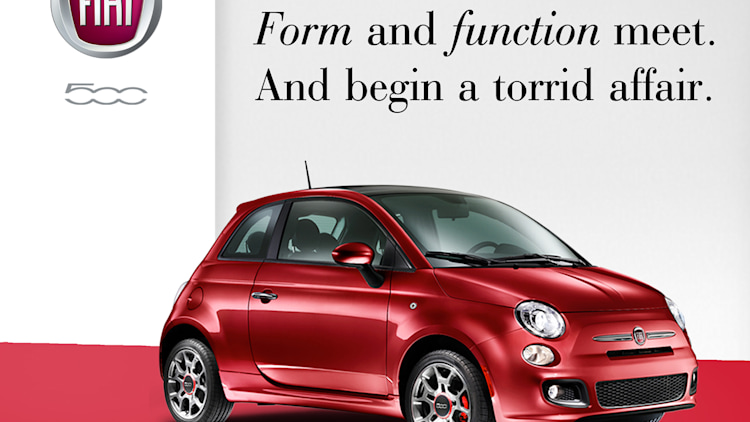 Fiat 500 marketing collateral