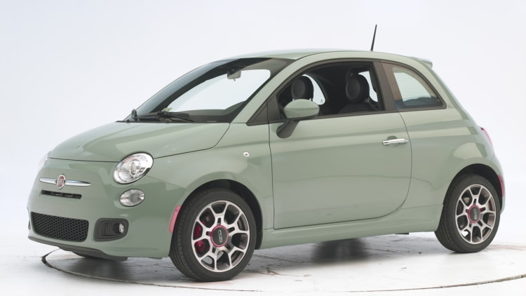 fiat 500 earns iihs top safety pick photo gallery autoblog. Black Bedroom Furniture Sets. Home Design Ideas