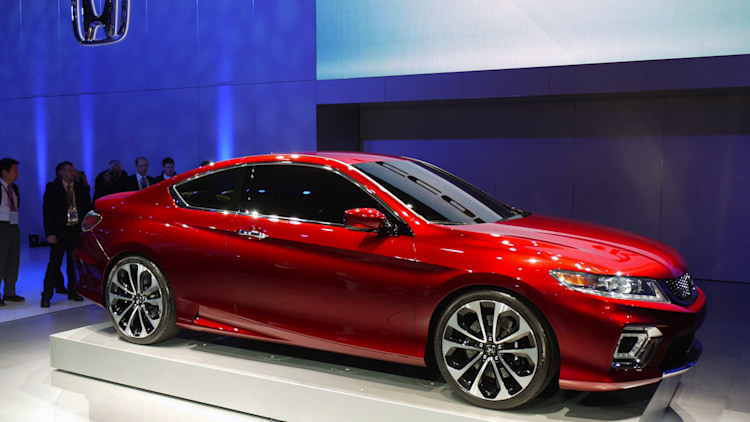 2013 honda accord coupe concept previews redesign hybrid for Used 2013 honda accord coupe