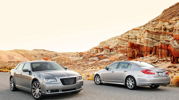 2012 Chrysler 300 S and 2012 Hyundai Genesis