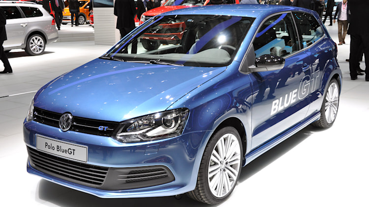 2012 volkswagen polo blue gt mixes fun and frugality. Black Bedroom Furniture Sets. Home Design Ideas