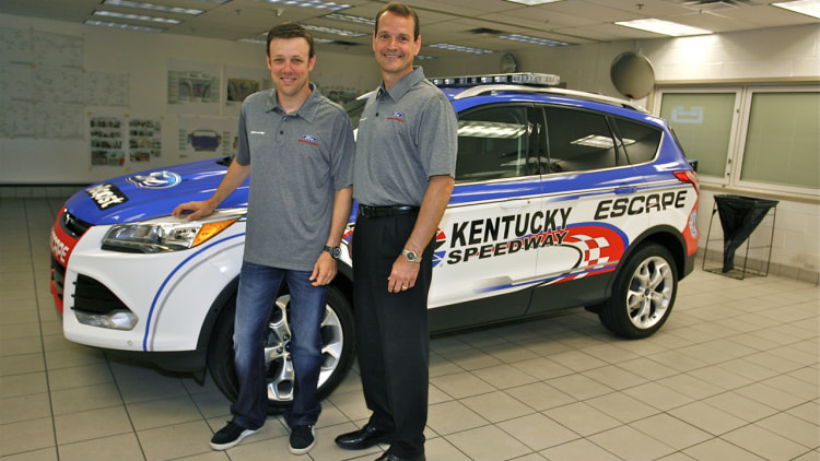 2013 Ford Escape NASCAR Pace Car