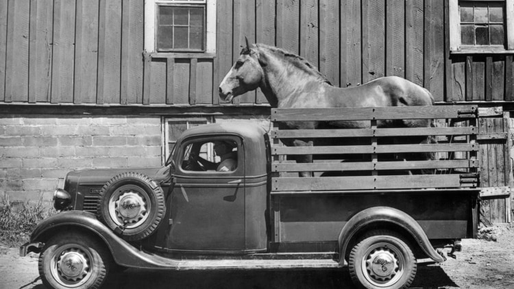 1936 1/2-ton GMC pickup