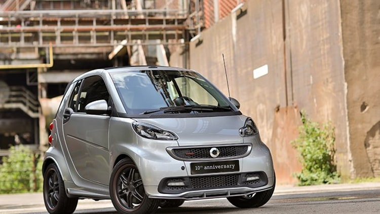 2012 Brabus Smart 10th Anniversary edition