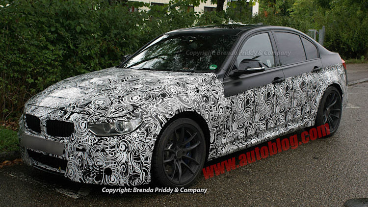 2014 BMW M3 Engine Spy Shots
