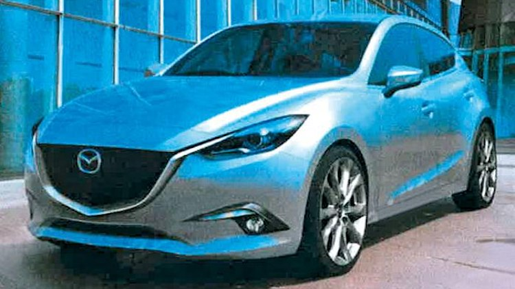 2014 Mazda Mazda3 digital renderings