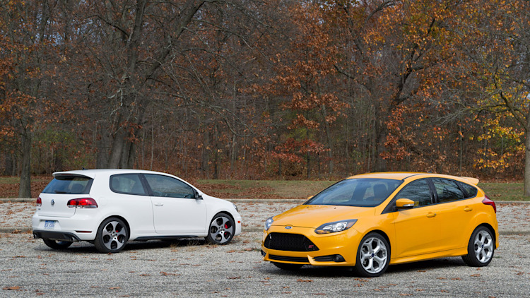 2013 Ford Focus ST vs 2012 Volkswagen GTI