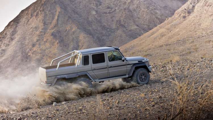 Mercedes releases 6x6 g63 amg specs and pics w video for Mercedes benz g wagon 6x6 for sale