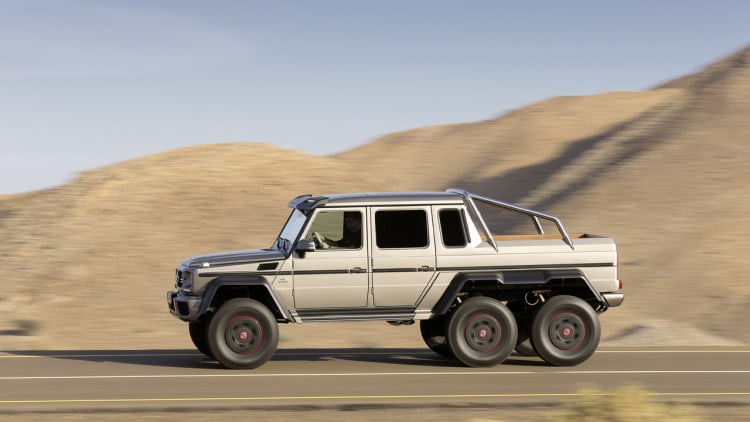 mercedes completes production of g63 amg 6x6. Black Bedroom Furniture Sets. Home Design Ideas
