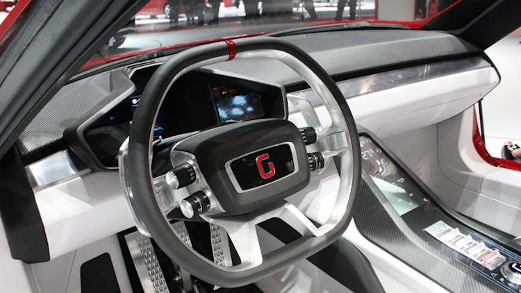 italdesign giugiaro parcour concept geneva 2013 photo. Black Bedroom Furniture Sets. Home Design Ideas