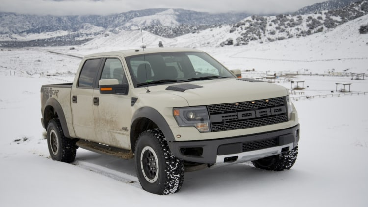 Ford svt raptor curb weight