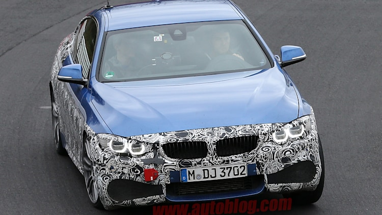Spy Shots: BMW 4 Series Coupe M Sport