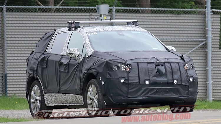 2014 Buick Anthem: Spy Shots