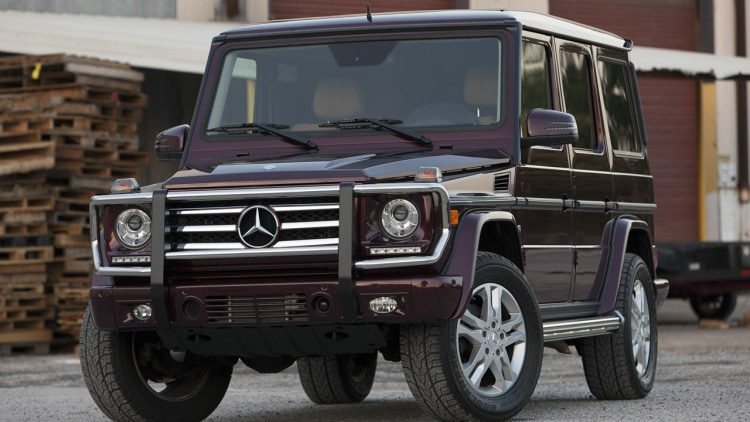 2013 mercedes benz g550 for Mercedes benz g550 suv used