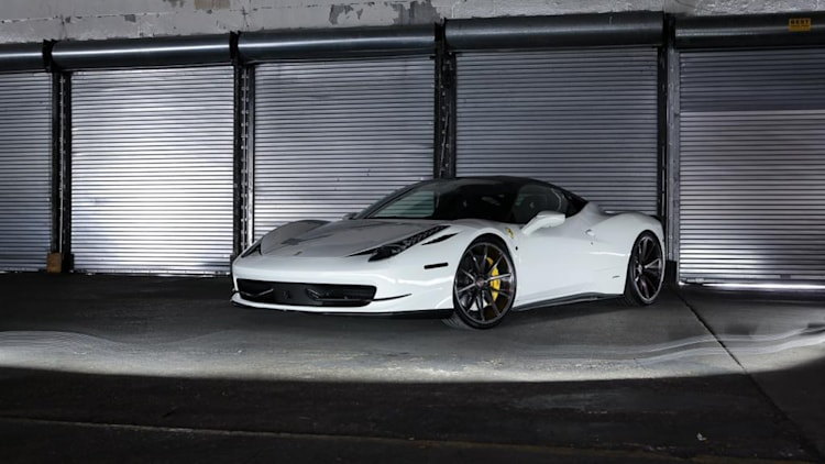 2011 Ferrari 458 Italia with Vossen Wheels