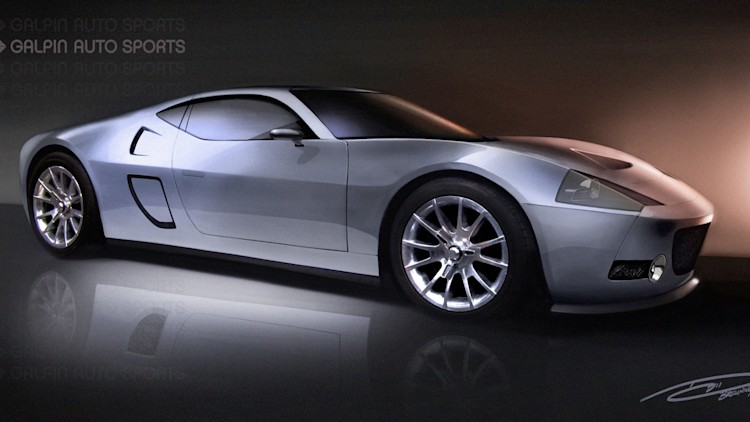 Galpin Ford GTR1 Renderings