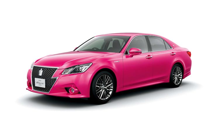 2014 Toyota Crown Electric Fuchsia