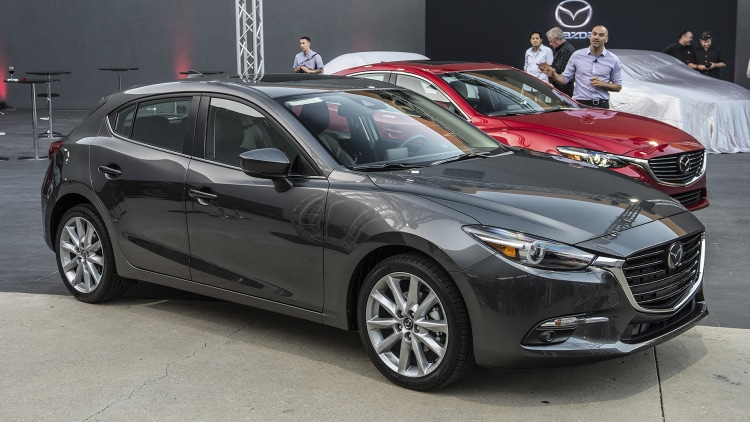 Mazda Certified Pre Owned >> 2017 Mazda3 Unveiling Photo Gallery - Autoblog