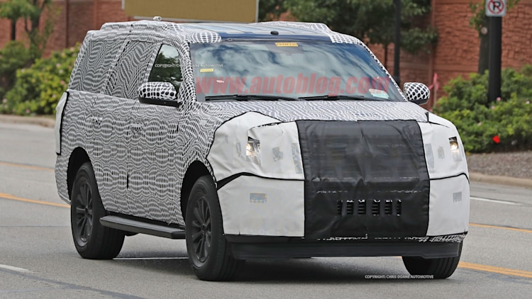 ford expedition spy shots photo gallery autoblog
