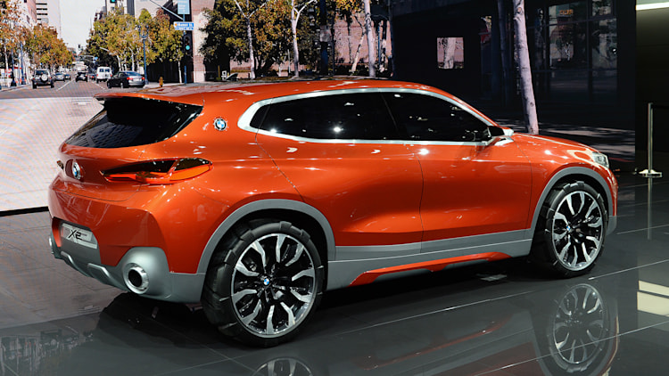 bmw x2 concept paris 2016 photo gallery   autoblog