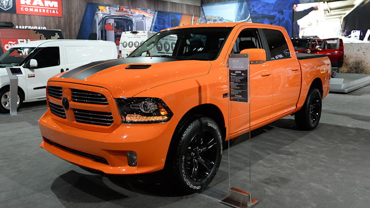 Ignition Orange 2017 Ram 1500 Sport La 2016 Photo Gallery