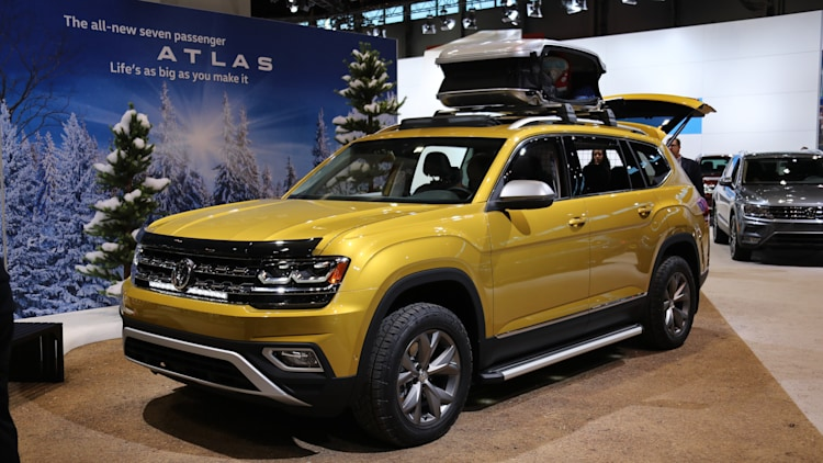 volkswagen atlas weekend edition 2017 chicago auto show photo gallery autoblog. Black Bedroom Furniture Sets. Home Design Ideas