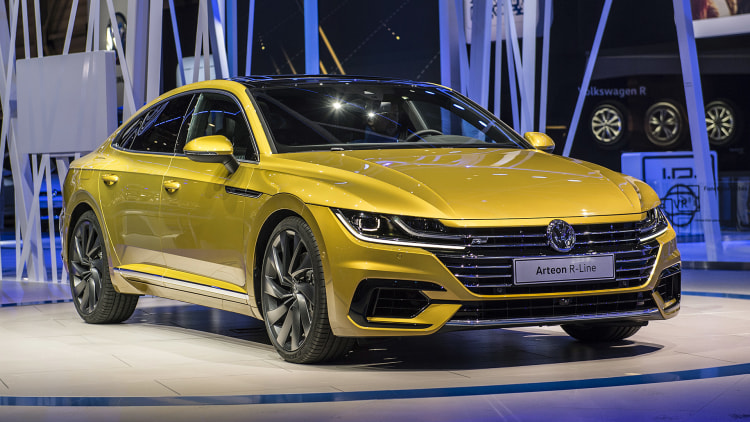 2017 volkswagen arteon geneva 2017 photo gallery autoblog. Black Bedroom Furniture Sets. Home Design Ideas