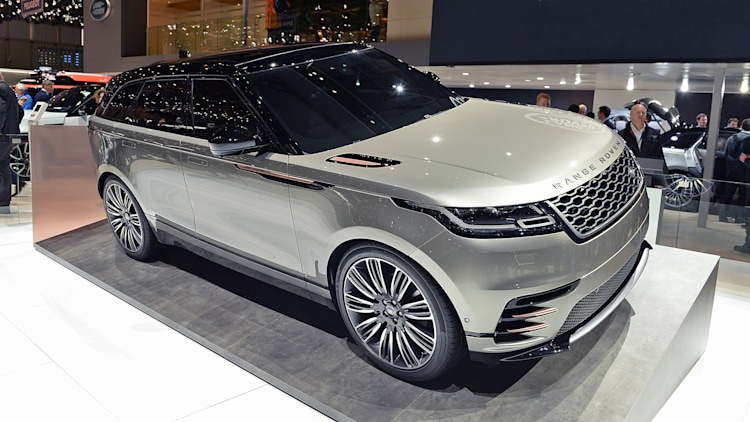 2018 Land Rover Range Rover Velar Geneva 2017 Photo