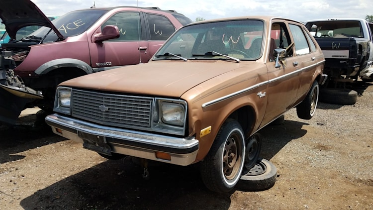 Junked 1979 Chevrolet Chevette Photo Gallery Autoblog