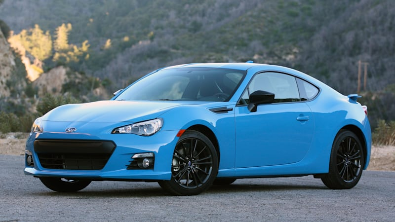 2016 Subaru Brz Series Hyperblue Quick Spin Autoblog