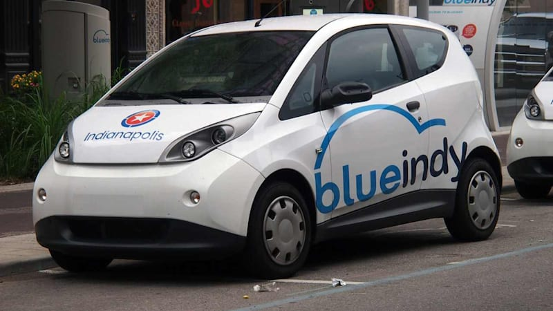 BlueIndy opens today; all-new EV car sharing comes to US