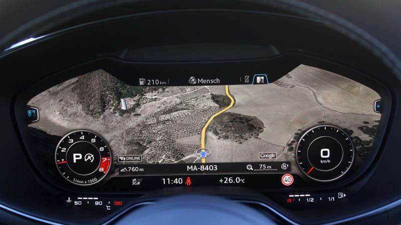 Audi A3 Gets Virtual Cockpit Next Year Autoblog