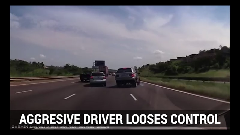 Autoblog Minute: Road raging driver gets karmic comeuppance