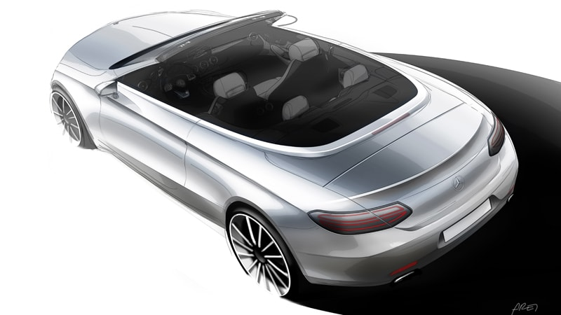 The Mercedes-Benz C-Class Cabriolet will debut in Geneva