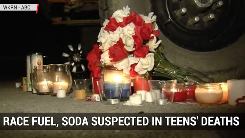 Teens die from drinking mixture of racing fuel and soda