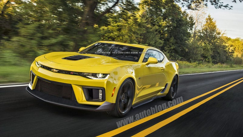 This is what a 2017 Chevy Camaro Z28 could look like ...