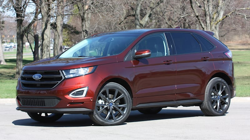 2015 ford edge sport w video autoblog. Black Bedroom Furniture Sets. Home Design Ideas