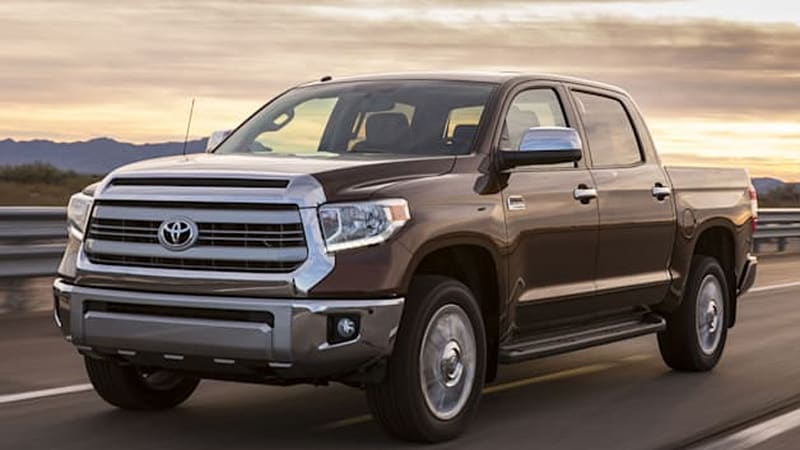 130,000 Toyota Tundra pickups recalled over airbag issue