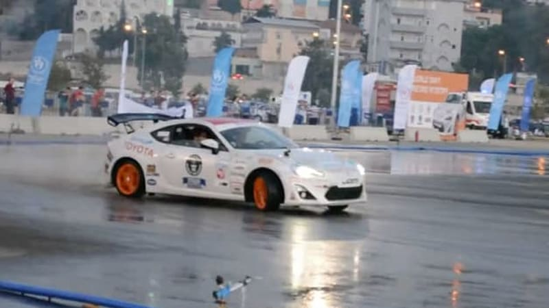 New drifting world record set in Toyota GT86