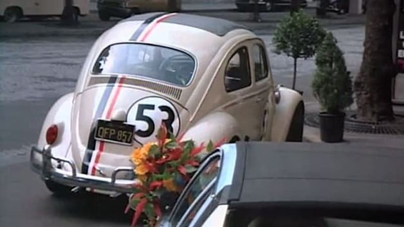 eBay Find of the Day: Unrestored Herbie Love Bug movie car