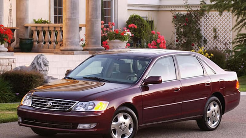 119K Toyota Avalon sedans recalled over airbag woes